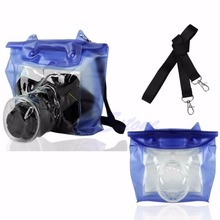 DSLR SLR מצלמה עמיד למים מתחת למים שיכון Case פאוץ יבש תיק עבור Canon ניקון Drop
