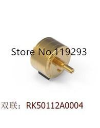Japanese ALPS original fever sound quality doublet potentiometer RK50112A0004 10KA 20KA 50KA 100KA 250KA