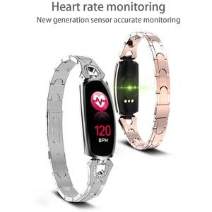 Image 3 - スマートブレスレット AK16 心拍数男性女性腕時計血圧フィットネストラッカー防水カラーコールメッセージ活動スポーツバンド