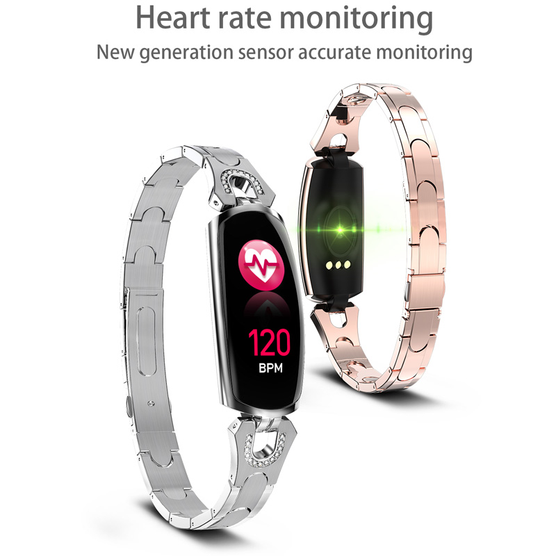Image 3 - Smart Bracelet AK16 Heart Rate Men Women Watch Blood Pressure Fitness Tracker Waterproof Color Call Message Activity Sports Band-in Smart Wristbands from Consumer Electronics