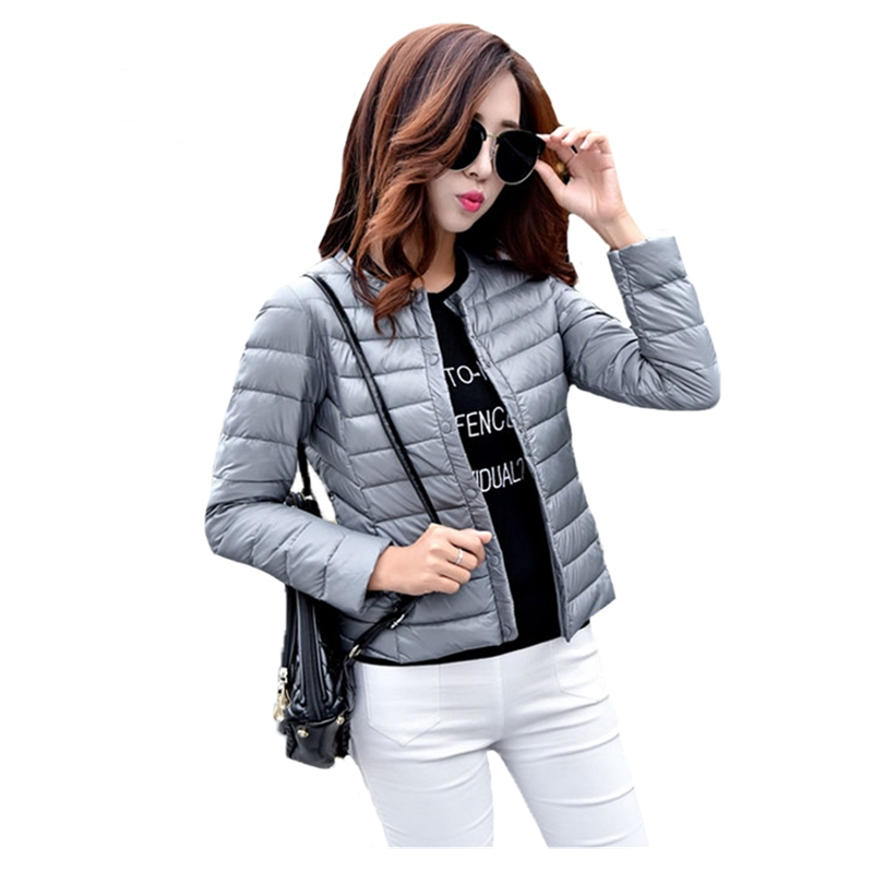 2019 Fitaylor New Autumn Women Ultra Light White Duck Down Jacket Plus Size S-3xl Candy Color Slim Short Design Warm Down Coats