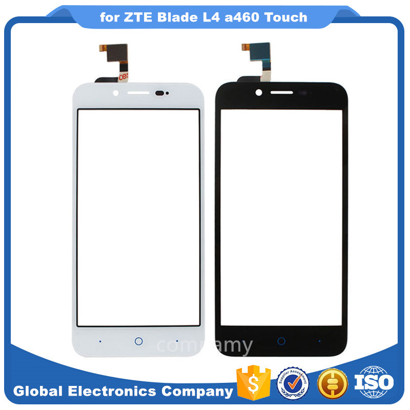 5.0inch mobile phone Touch Panle Replacement for ZTE Blade L4 a460 Touch Screen Panel Free Shipping