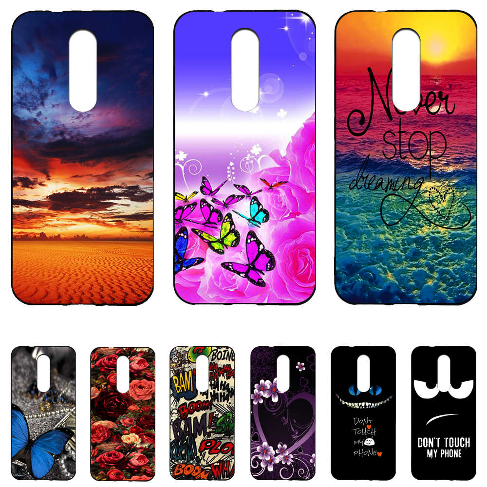 For Wiko WIM Lite Colored drawing Cartoon Fundas Soft Silicone Cover Case for Wiko WIM Lite Printed Phone Cover