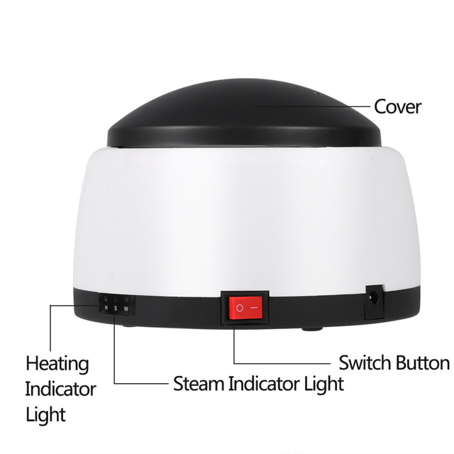 5 finger gel nail remover cleaner steam heating