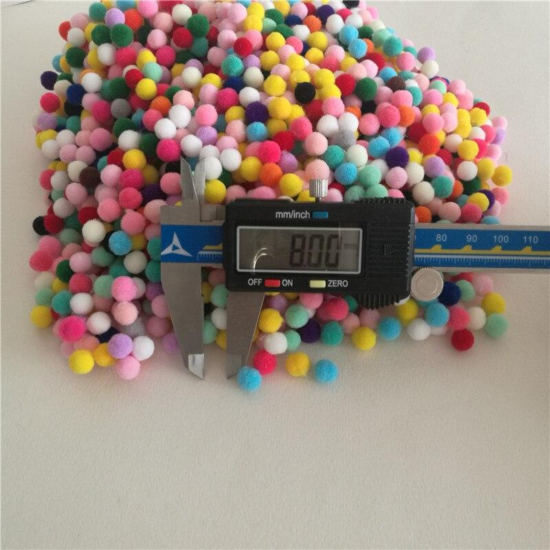 8 10 15 25 30 mm multi opção cor pompons pompons macio pompons bolas de pele diy casa jardim casamento decoração flores grinaldas vestuário
