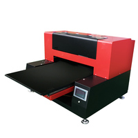 UV Printer Automatic High Speed 6090 UV Flatbed Printer Multi function Printer 12 color double Print head For Phone Case Acrylic