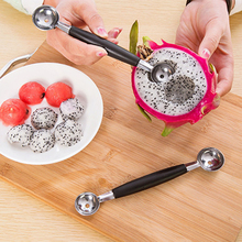 Fruit-Spoon Baller Carving-Knife Ice-Cream Stainless-Steel XINAHER 1PC Melon Multi-Function
