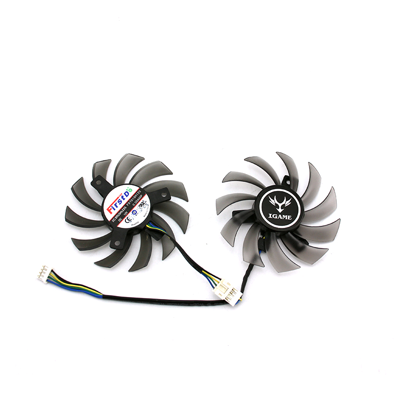 New Original for Colorful <font><b>GTX650Ti</b></font> GTX660 GTX750ti Video Graphics card cooling fan FD7010H12S DC12V 0.35A 1set image