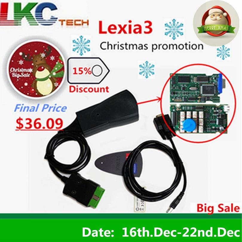 Profissional Lexia3 PP2000 Lite V7.83 Diagbox PSA XS Evolution Para Citroen/Peugeot Para LEXIA-3 FW 921815C Lexia 3