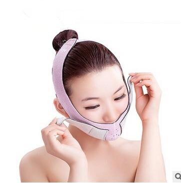 Thin face mask thin chin variable melon seeds mask improve facial small yan tight pink orange blasting grease machine nylon