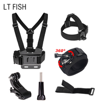 LT FISH Sports Camcorder Accessories Mouunt Strap For GoPro Hero 6 5 4 3 2 1