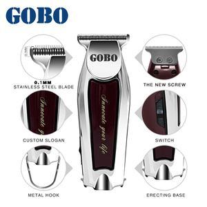 Image 3 - GOBO hot sales Professional máquina de cortar cabelo aparador de Barba cabelo Elétrica baber máquina de corte de cabelo Recarregável sem fio clipper corte de cabelo