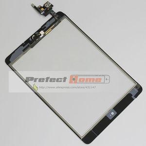 Image 4 - 10 יח\חבילה עבור iPad מיני 1/2 מיני 3 מגע מסך Digitizer עצרת עם לחצן בית & בית להגמיש כבל + IC מחבר