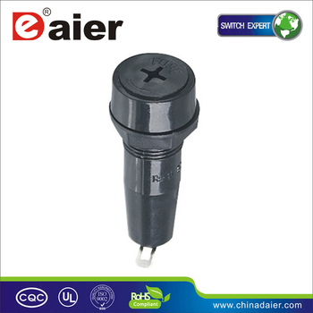 Daier R3-10 Fuse Holder Mounting Holes Diam 14mm