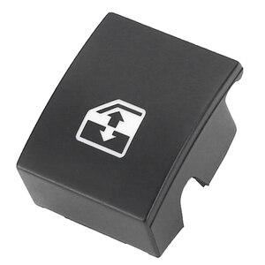 Image 3 - Para vauxhall opel 1pc preto plástico interruptor da janela elétrica botão capa 13228881 6240452 suporte astra mk5 h zafira/tigra b