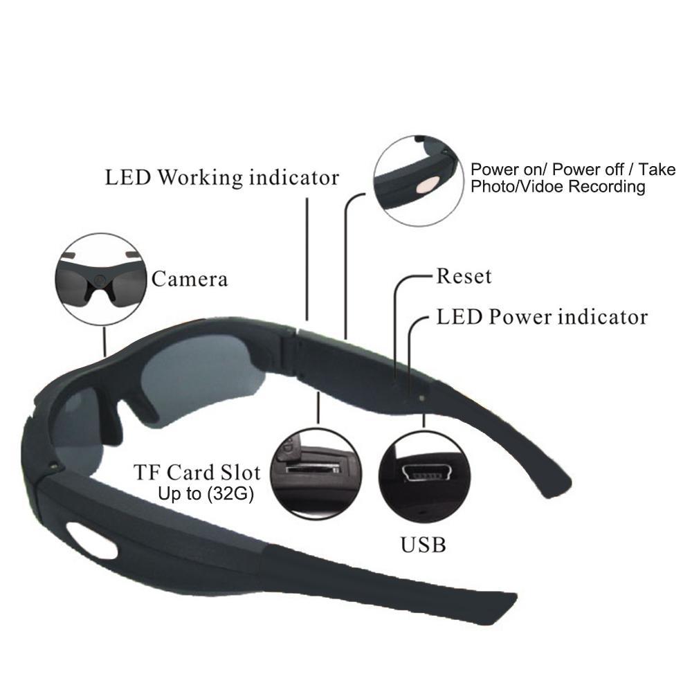 Soprt γυαλιά ηλίου φωτογραφικών μηχανών - Κάμερα και φωτογραφία - Φωτογραφία 2
