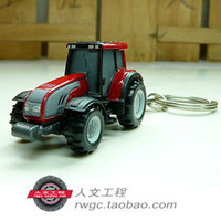 Valtra Valtra tractors red car model mobile phone chain bag ornaments personalized keychain UH
