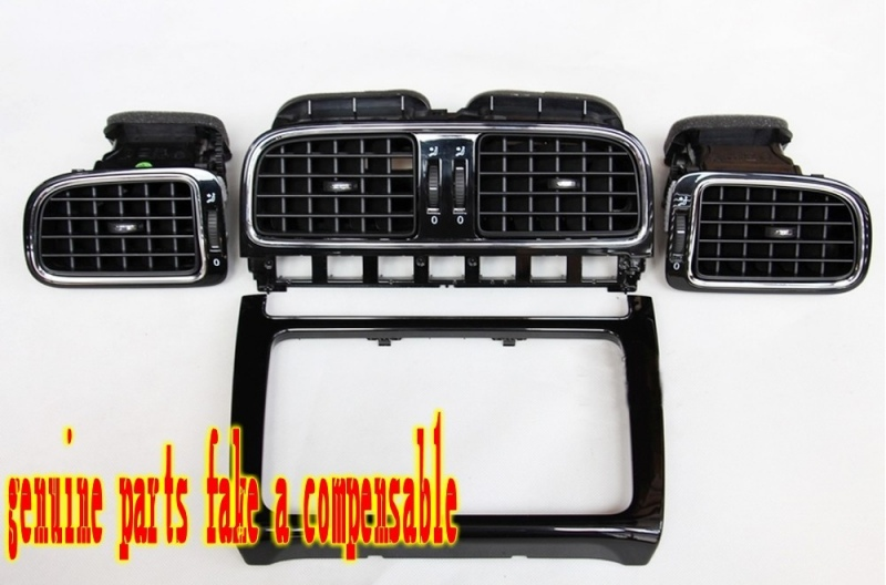 2010-2013 model VW New POLO Dashboard Outlet CD Outlet High Piano Interior Interior Outlet Left Mid Right Outlet 6RD819728703704 new 2pcs female right left vivid foot mannequin jewerly display model art sketch