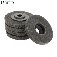 1Pc Dremel Accessories Fiber Polishing Wheel Buffing Pad Grinding Abrasive  Disc for Dremel Rotary Tool Grinder Tool 100mm 4 Inch