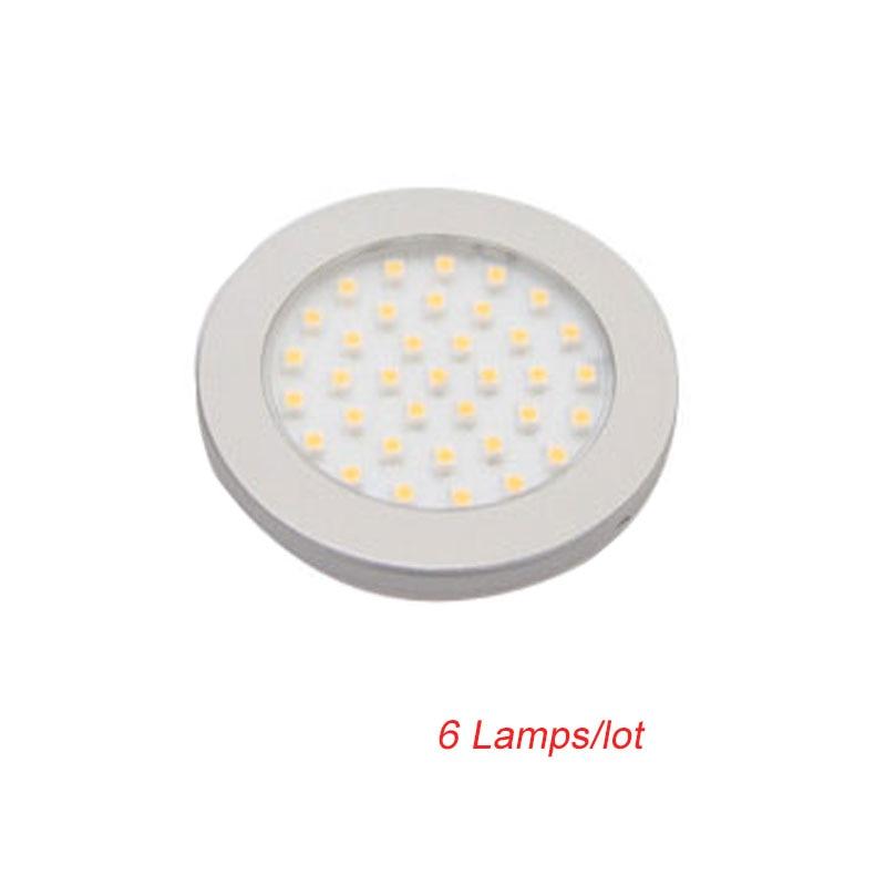 JUSHENG Led Vin Skåp Aluminium Lampa 12v Liten Under Skåp Belysning Yttre Ledd Taklampor 3w 6st / lot gratis frakt