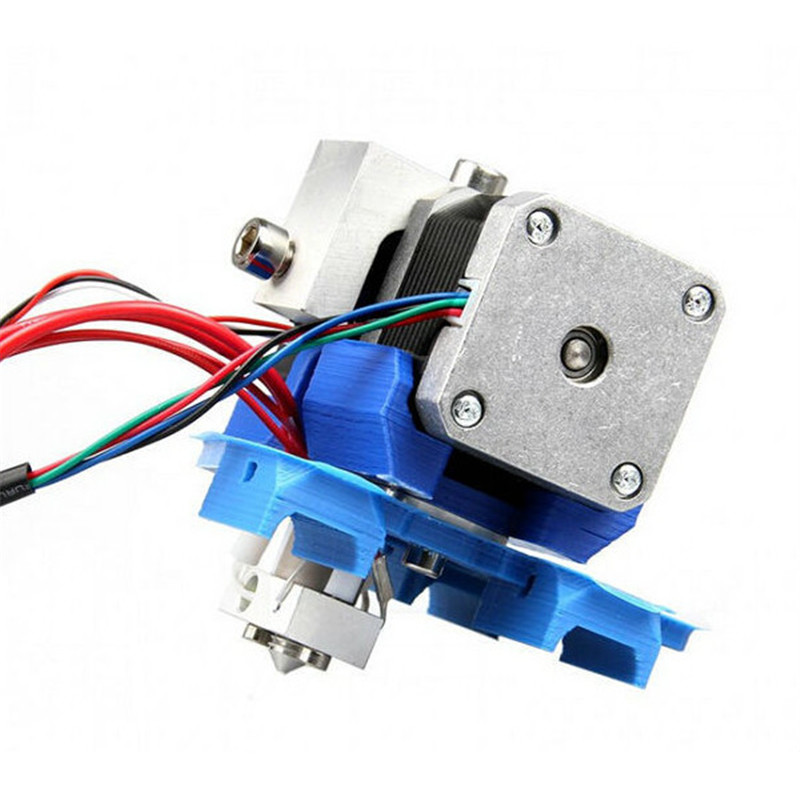 For Assembled GT2 Extruder 0.35mm Nozzle 3mm Filament For 3D Printer Makerbot Extrusion head print head Kit Accessories geeetech gt3 assembled 3d printer extruder with stepper motor nema17 0 3 0 35 0 4 0 5mm nozzle for 1 75 3mm filament