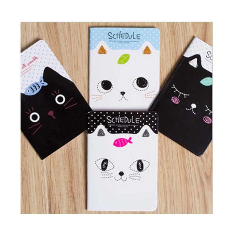 DL Taobao F414 notebook notebook indah kartun kucing kecil buku kecil hadiah Alat Tulis perlengkapan kantor kecil untuk siswa