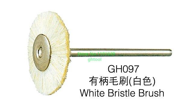 Livraison gratuite chine polissage roues 144 pièces/boîte bijoux rotatif polissage brosse monté chèvre cheveux roue brosse bijoux outils