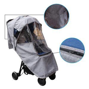 Image 2 - Bebek arabası yağmurluk kapak arabası şemsiye araba yağmur kılıfı bebek arabası cam arabası aksesuarları arabası aksesuarları