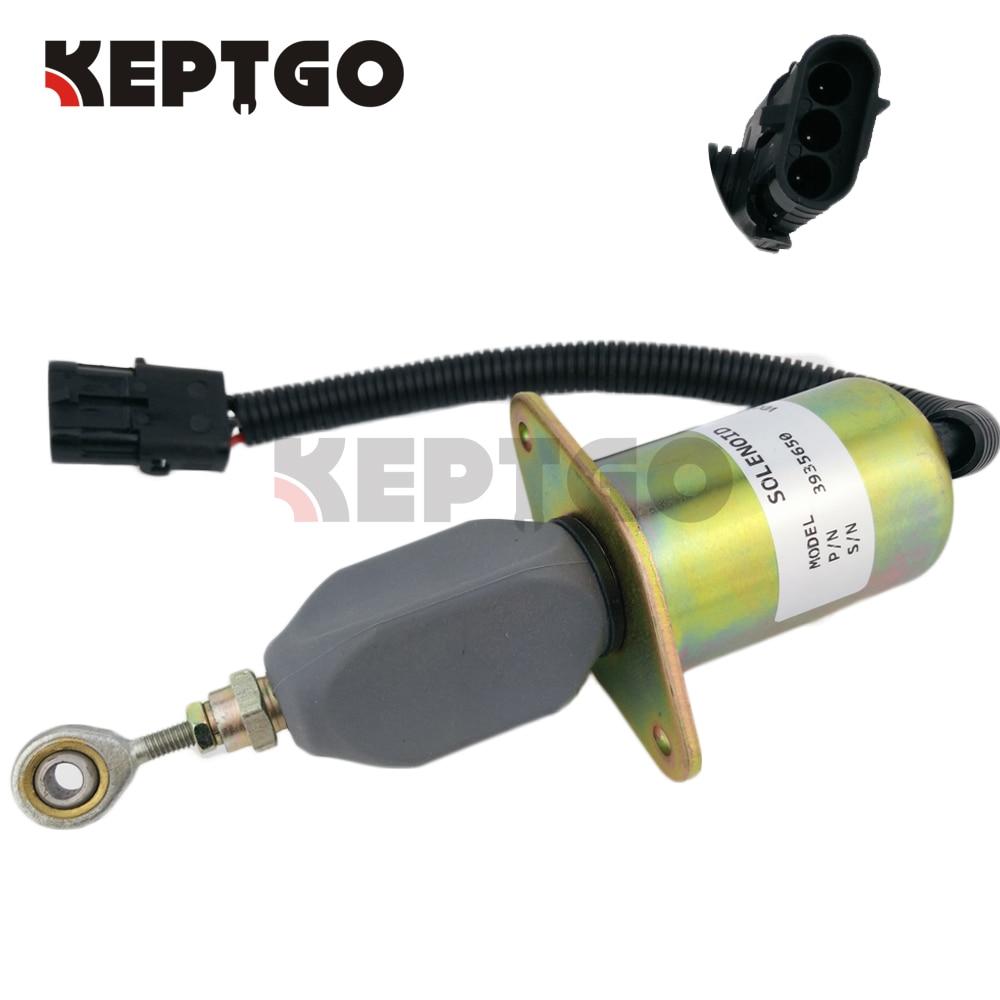 все цены на 24V 3935650 SA-4765-24 Flameout Diesel Fuel Shut Down Stop Solenoid For Cummins 6CT онлайн