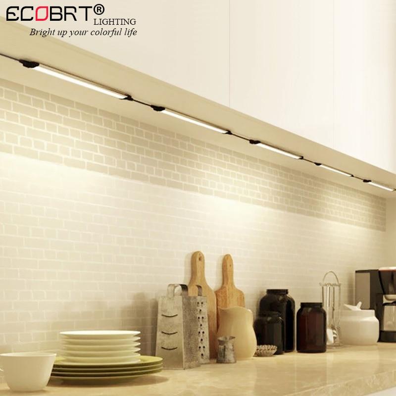 Neue 12 v LED Lineare Schrank Lichter in Küche Aluminium ...