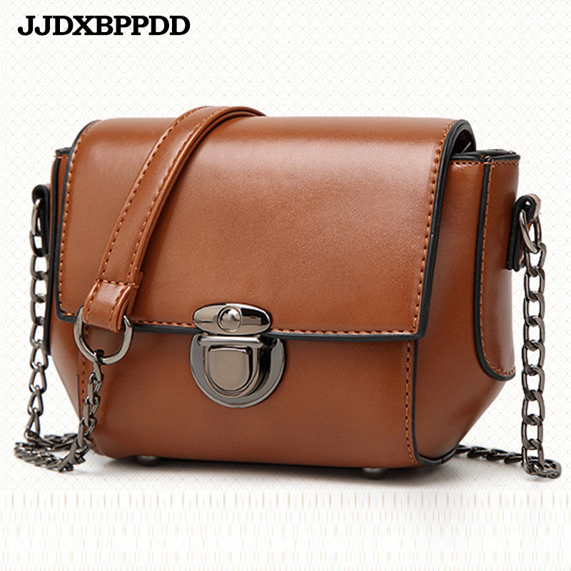 JJDXBPPDD 2018 Female Brand Hand Bag Woman Messenger Bags Lady Chain Women Fashion Leather Shoulder Bag Girl Crossbody Bags