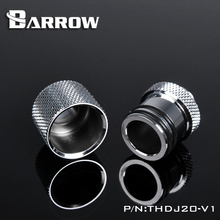 Barrow G1/4 Male to Rotary Detachable Connectors / Extender (5mm) Water Cooling System Total 25mm M  Fitting