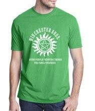 Supernatural Winchester Bros Men's T-Shirt