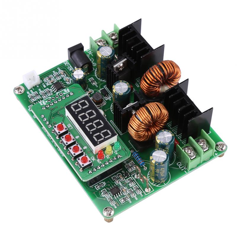 1 PC DC-DC Converter Digital Voltage Step-up Step-down Module Boost Buck Converter Board 38V 6A High Quality цена