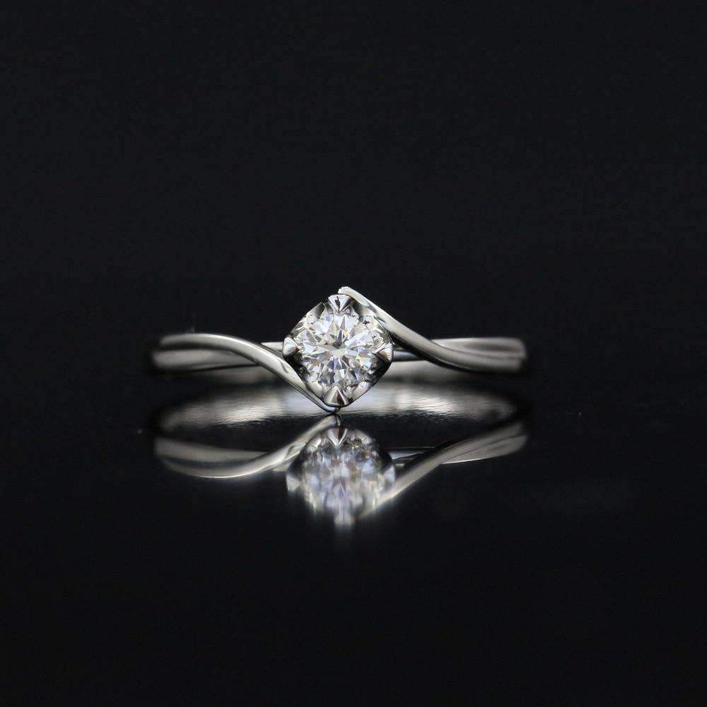 LASAMERO 0.15 CT FG/SI Round Cut Natural Diamond Ring For Women 18k White Gold Certified Engagement Wedding RingLASAMERO 0.15 CT FG/SI Round Cut Natural Diamond Ring For Women 18k White Gold Certified Engagement Wedding Ring