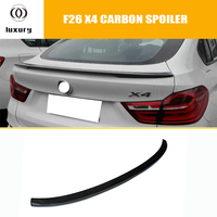 F26 X4 M Performance Style Carbon Fiber Rear Trunk Spoiler for BMW F26 X4 2014 2015 2016 Auto Racing Car Styling Tail Lip Wing
