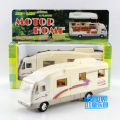 Alloy tour bus, metal caravan,1:36 scale alloy pull back cars,Rc model,High simulation toys,free shipping