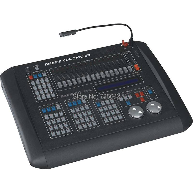 DHL Free Shipping high quality New sunny 512-III console dmx 512 controller