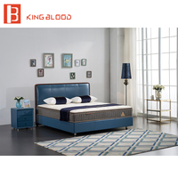 Cheap price queen size wooden platform bed for bedroom sets furniture