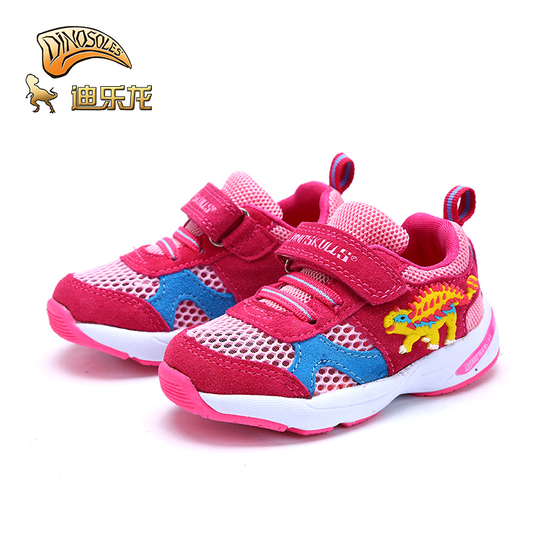 Best Offer #69f1 DINOSKULLS Baby Shoes Tennis For Girls 3