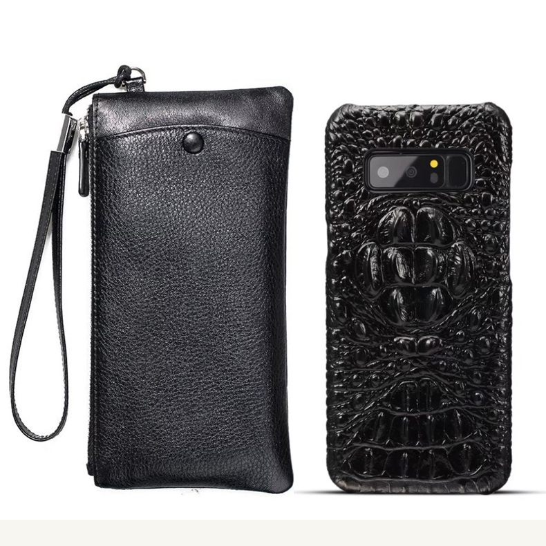 CKHB Real Leather Wallet + Back Cover For samsung galaxy note 8 Luxury Genuine Leather Back Cover For galaxy note9 case bagCKHB Real Leather Wallet + Back Cover For samsung galaxy note 8 Luxury Genuine Leather Back Cover For galaxy note9 case bag
