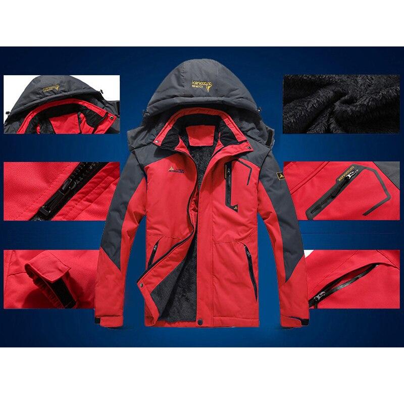 La lumière arctique-veste de Ski d'hiver Super chaude de 30 degrés femmes imperméable à l'eau respirante veste de neige manteau de Ski en plein air - 5