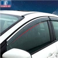 Window Visor Vent Shades For Chevrolet Cruze Sedan Hatchback 2012 2014 2015 2016 Rain Deflector Awnings Car Styling 4pcs/set