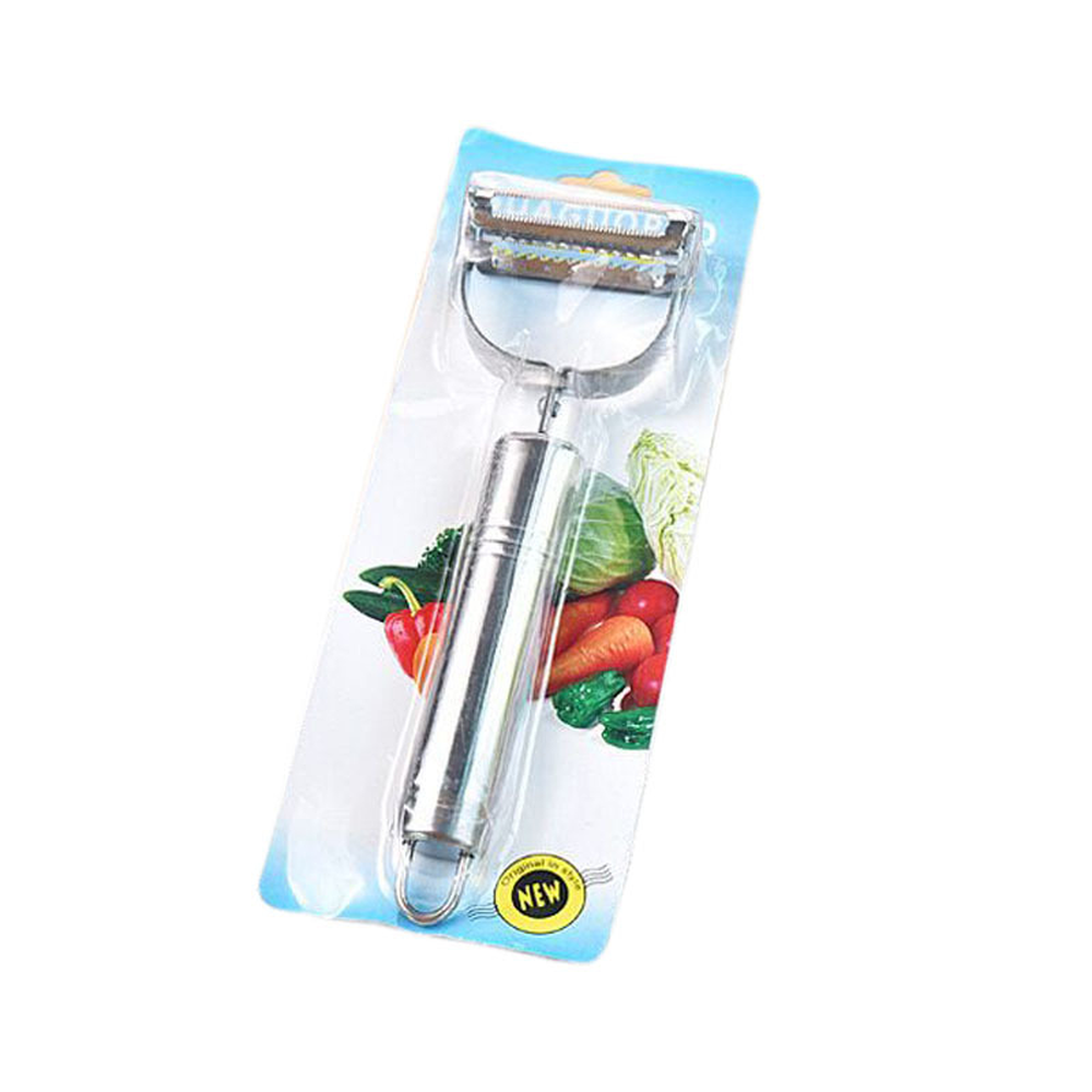 Hot Sale 1pc Stainless Paring Knife Fruit Peeler Grater Vegetable Slicer Kitchen Tools Supplies Accessories in Graters from Home Garden