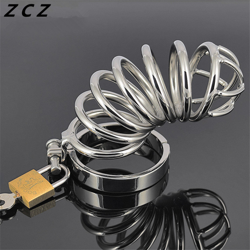 ZCZ Bellows Lock for men penis plug urethral sound stimulate masturbation man toys sex products toy WQ755