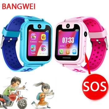 2019 New Smart watch LBS Kid SmartWatches Baby Watch for Children SOS Call Location Finder Locator Tracker Anti Lost Monitor+Box 3