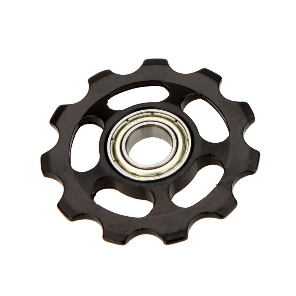 Aluminium Bicycle Jockey Wheel Rear Derailleur Bike w//11T Gear Guide Pulley 5MM