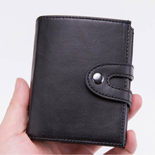 2019 New Smart Credit Card Holder Men and Women Aluminum Alloy Card Case PU Leather Fashion Card Wallets ID Card Holder Purse 1pc pu leather women wallets dollar price solid credit card holder ladies purse bags new 2016 bic001 pm49
