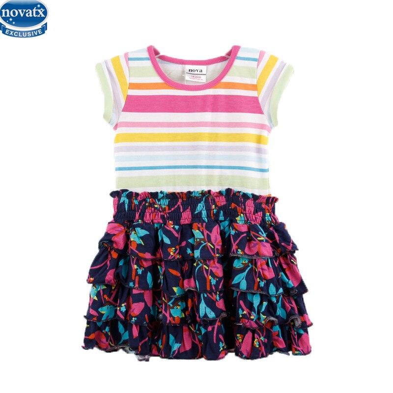 617f42becb64d Nova niños niña ropa vestido sin mangas del bebé nova desgaste de los niños  de la venta caliente linda chica de verano vestido para 2-6y bebés