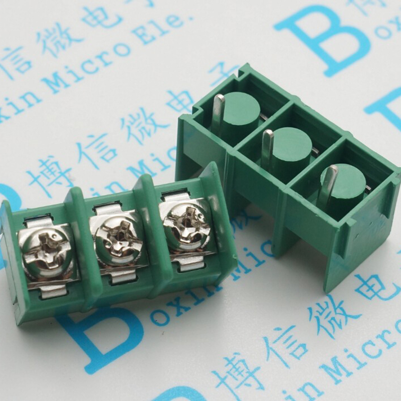 KF7.62-3P Terminals Connector Pitch From 7.62mm Can Be Spliced 3P Green